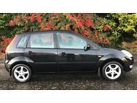 FORD FIESTA ZETEC 1.4L 16v (2005) year mot 5 door family car very clean