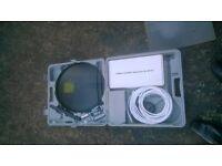 Caravan/Motorhome satellite kit