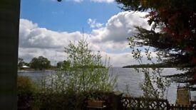 Lakeside caravan for rent