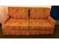 Quality sofa bed w/ removable washable covers & mattress topper (£650 new) central London bargain