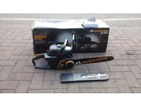 McCULLOCH PETROL CHAINSAW NEW