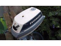 EVINRUDE 4HP OUTBOARD