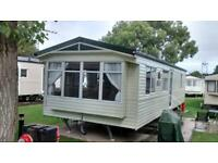 Static Caravan North Wales , cheap site fees 12 ft wide