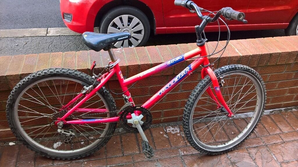 LOOK CHEAP 2 X GIRLS MTB 24WHEELin Middlesbrough, North YorkshireGumtree - FOR SALE 2 XRALEIGH GIRLS 24 MTB BOTH BIKES IN FULL WORKING ORDER AND ARE VERY CLEAN EXCELLENT TYRES/BRAKES ALL GEARS WORKING £35 THE PAIR WILL SEPARATE