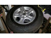 5 X Landrover freelander alloys