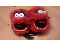 Disney The Muppets Animal Slippers - brand new