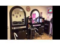 Hairdresser salon for sale or rent £500