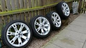 "Landrover super seven 22""alloy wheels"