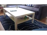 WHITE IKEA LACK COFFEE TABLE IN EXCELLENT CONDITION