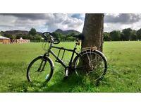 HYBRID BICYCLE 18 Gears SHIMANO *170-195cm* FREE U-lock+Lights+Helmet HYBRID BIKE suitable for tall