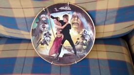Star wars wall plate, exellent condition , £25