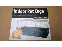 indoor rabbit, hamster cage for sale.