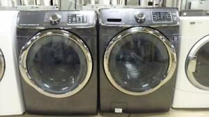 18- Laveuse et Sécheuse Frontales SAMSUNG VRT À VAPEUR /STEAM  Frontload Washer and Dryer
