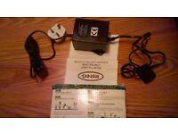 ring 60 watt transformer for linking garden lights brand new in box
