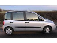 CHEAP DIESEL FIAT MULTIPLA DYNAMIC JTD (2009) 6 seater year mot with tow bar