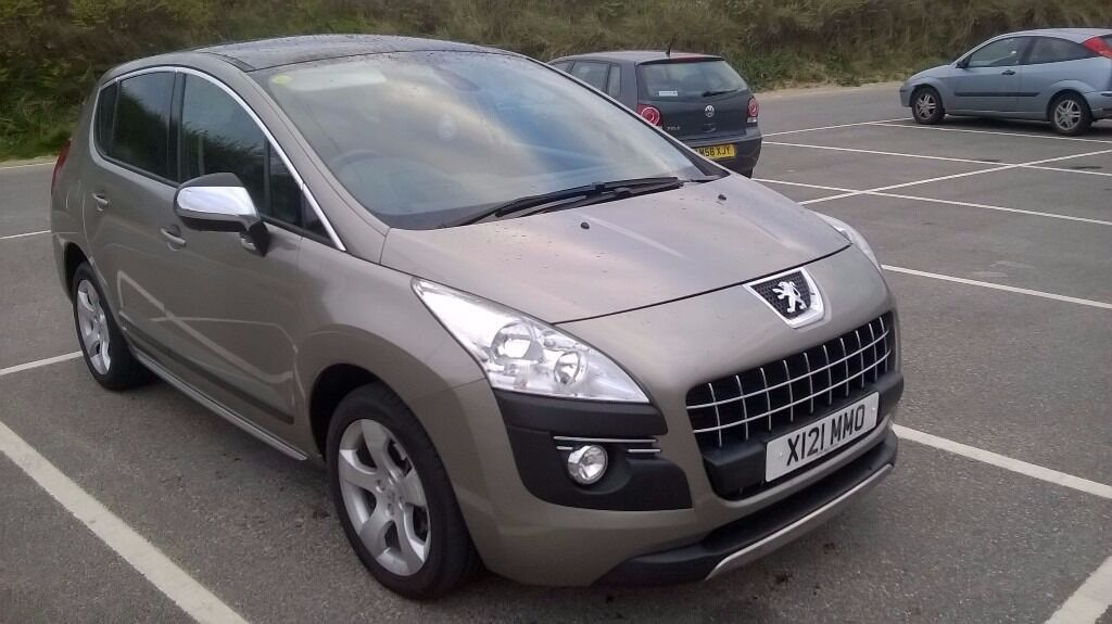 2011 peugeot 3008 diesel automatic 1 previous owner mot feb 2018 mileage 45500 panoramic roof. Black Bedroom Furniture Sets. Home Design Ideas