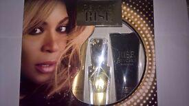 Beyonce Rise Fragrance gift set 30ml EDT spray + 75ml body lotion +75ml shower gel RRP 24.95!!