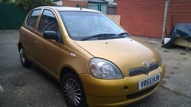 Toyota Yaris for £580