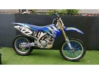 2008 yamaha yzf 250 motocross bike mint condition