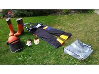 Job lot Site chainsaw British standard approved equipment