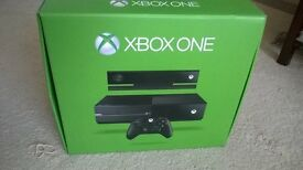 boxed xbox one with kinects as new