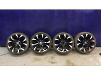 "WOLFRACE 17"" alloy wheels"