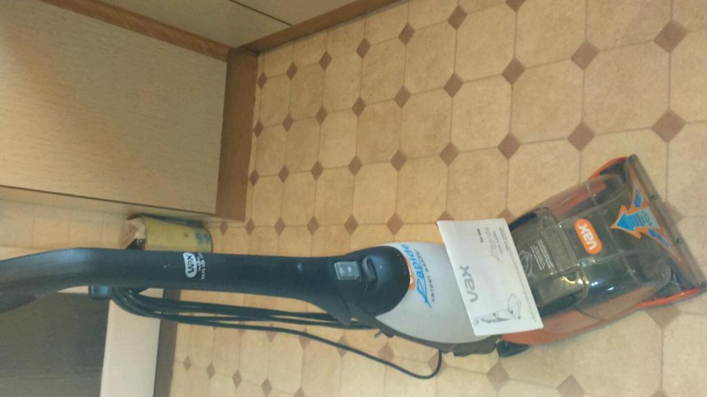 Vax W90 Ru B Rapide Ultra Upright Carpet Cleaner Manual