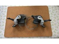 Shimano STX RC 8 / 3 / 24 speed shifters for Mountain bike hybrid cycle mtb