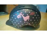 Girls riding hat