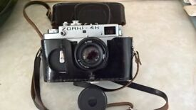 Vintage 35mm camera