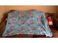 George pig blue blanket