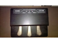 CME GPP3 Grand Piano Style USB Midi Pedal