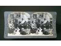 "original vintage ( circa 1900s ) stereoscopic photograph ' "" there's no place like home """