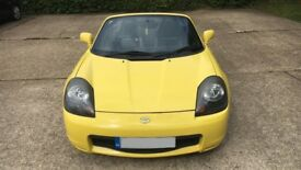 Toyota Mr2 Breaking Yellow Roadster All Parts Available