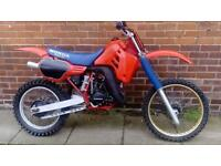 Honda cr125 r red rocket 1986 classic swaps???? not Yz ktm kx rm kx for husaberge raptor