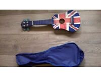 Union Jack Ukulele (includes free bag)