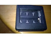 belt hole punching set for leather new and boxed