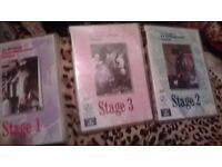 3 DVDS HORSES EXAMS 1 2 AND 3