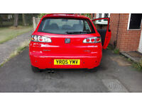 2005 Seat Ibiza FR 1.9Tdi 130ps, 62k done from new! two owners.