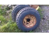 agricultural trailer wheels