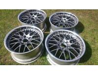 """BBS RS745 BMW 5x120 18"""" staggered, NO OFFERS !"""