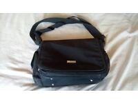 Black Nappy Changing Bag