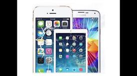 iPhone screen repair 5 5s 5c 6 6plus iphone 7 ipads with free screen protector