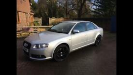 Audi A4 TFSI 2 litre S line, limited edition model 2007 FSH