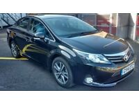 2014 Toyota Avensis 2.0 Diesel Icon Business Edition Black Low Mileage