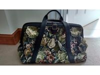 Marks & Spenser Black Tapestry weekend / overnight bag
