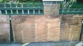 EX ROOFING MARINE PLY WOOD FREE.