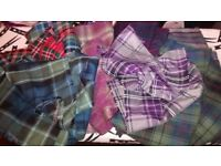 Tartan fabric bundle
