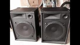 Various disco equipment