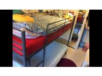 SOLD! SOLD! Metal framed bunk bed